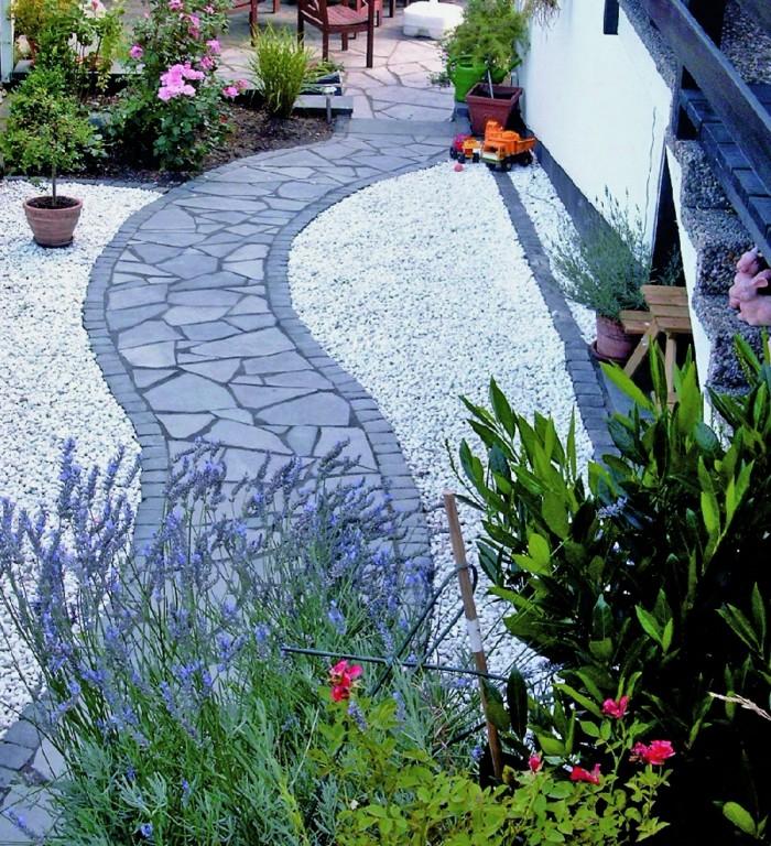 Samodzielna Dekoracja Ogrodu Przy Użyciu Kamieni I Kruszyw
